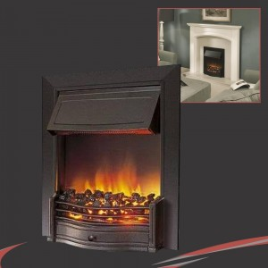 Dimplex Danesbury Black Thermostatic Electric Fire