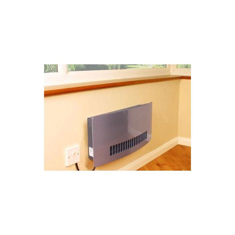 consort chelsea wall mounted aluminium fan heater. Black Bedroom Furniture Sets. Home Design Ideas