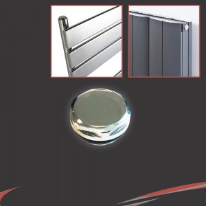 Chrome Blank Plug (for Radiators or Towel Rails)