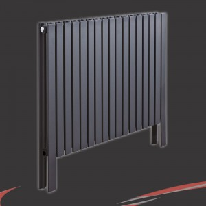 "820mm(w) x 800mm(h)""Axim"" Horizontal Anthracite Radiator"