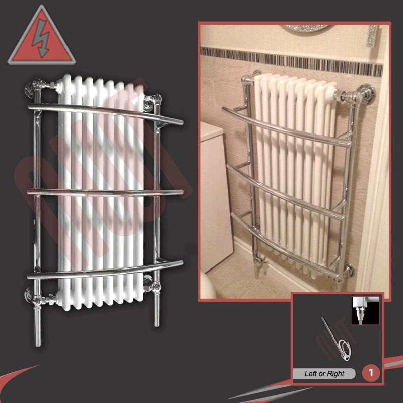635mm x 1000mm Single Heat Tranmere Traditional Towel Rail