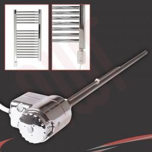 "RICA ""Atlantis"" Chrome Thermostatic Electric Heating Element"