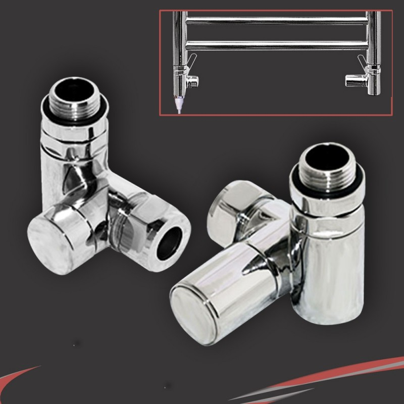 Dual Fuel Valve Set for Radiators & Towel Rails (Pair)