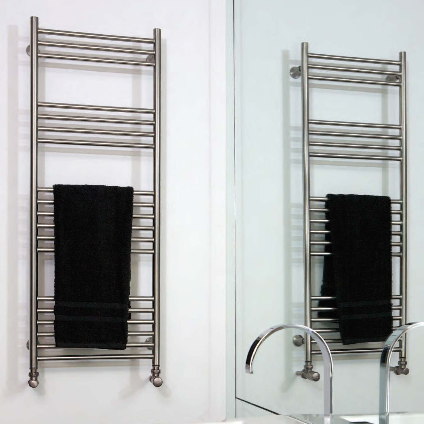Aeon Towel Rails | Stainless Steel Towel Rails - NWT Direct