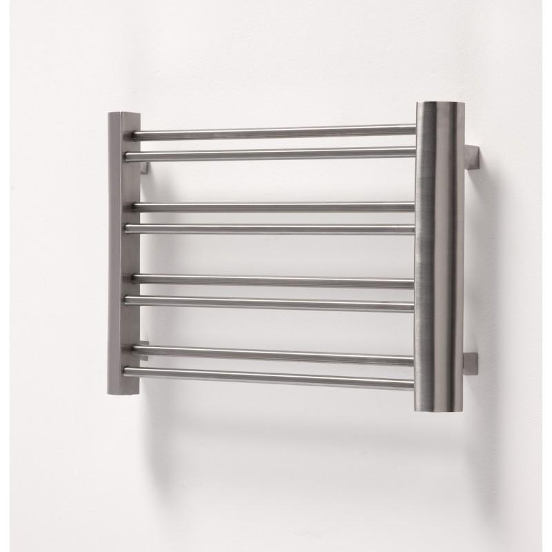 """Aeon """"Petit"""" Designer Brushed Stainless Steel Towel Rail"""