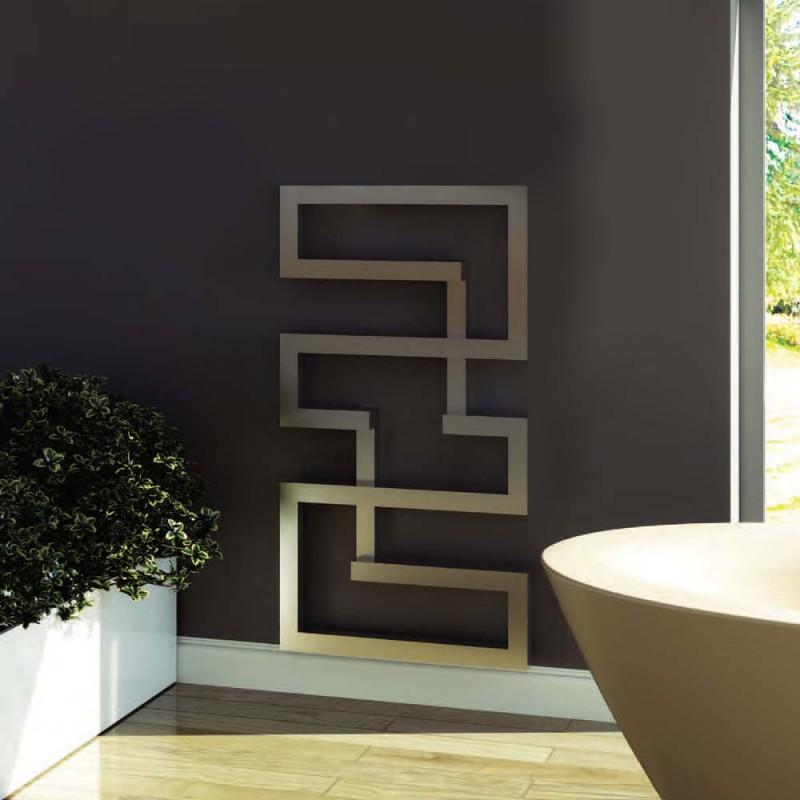 "Aeon ""Maze"" Designer Brushed Stainless Steel Towel Rails (2 Sizes)"