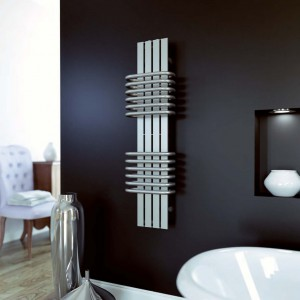 "Aeon ""Bolero"" Designer Brushed Stainless Steel Towel Rails (3 Sizes)"