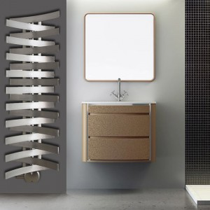 """Aeon """"Skuall"""" Designer Brushed Stainless Steel Towel Rails (3 Sizes)"""