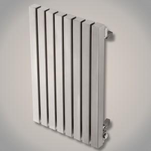 "Aeon ""Kare E"" Designer Brushed Stainless Steel Radiator (10 Sizes)"