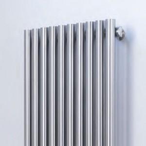 "Aeon ""Imza"" Designer Brushed Stainless Steel Radiator (4 Sizes)"