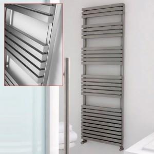 "Aeon ""Atilla"" Designer Stainless Steel Towel Rails"