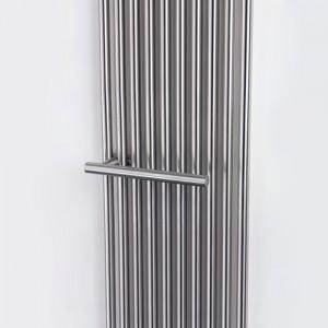 """Aeon """"Imza"""" Designer Brushed Stainless Steel Towel Bar"""