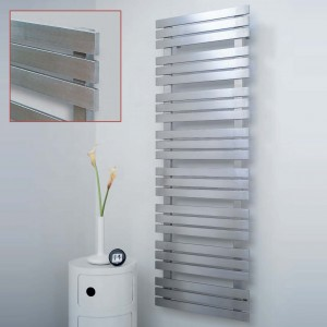 "Aeon ""Kaptan"" Designer Brushed Stainless Steel Towel Rails ( Sizes)"