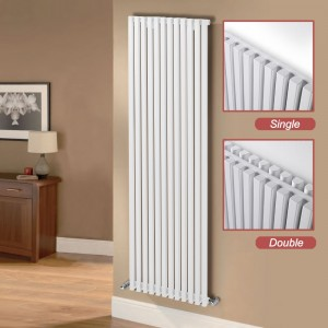 "Ultraheat ""Klon"" Designer White Horizontal Radiators (12 Sizes)"