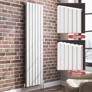 "Ultraheat ""Linear"" Vertical White Radiators (13 Sizes)"