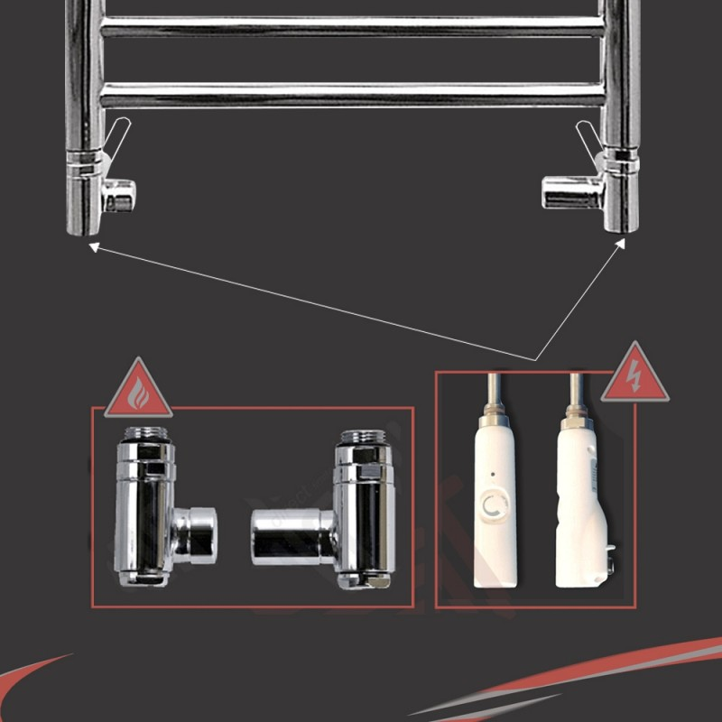 Dual Fuel Valve Kit (150 Watt RICA White Thermostatic Element)