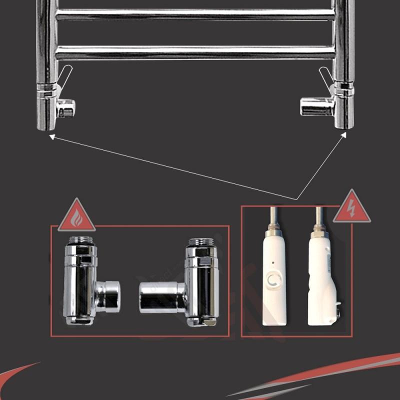 Dual Fuel Valve Kit (600 Watt RICA White Thermostatic Element)