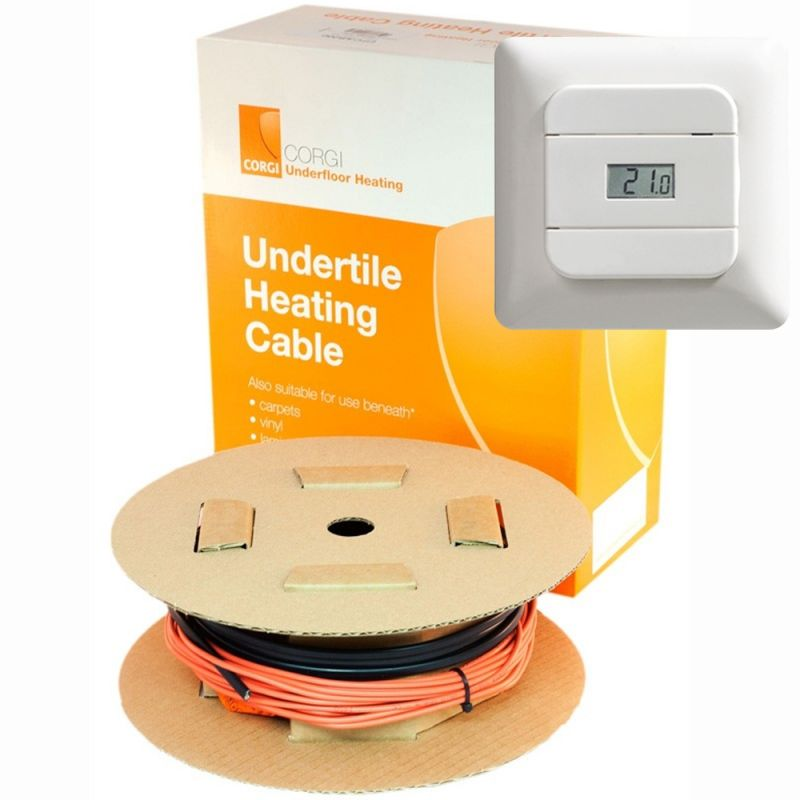 Corgi Underfloor Heating Cables 1 To 8 4 Square Metre