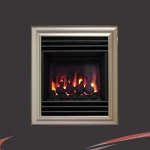 """Valor """"Harmony"""" Champagne Wall / Inset Homeflame Gas Fire"""