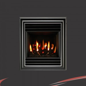 "Valor ""Harmony"" Black Wall / Inset Homeflame Gas Fire"