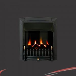 """Valor """"Dream"""" Black  Balanced Flue nset Homeflame Gas Fire"""