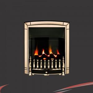 "Valor ""Dream"" Pale Gold Balanced Flue Inset Homeflame Gas Fire"