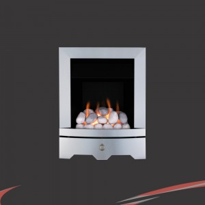 "Valor ""Seattle"" Steel Slimline Inset Homeflame Gas Fire"