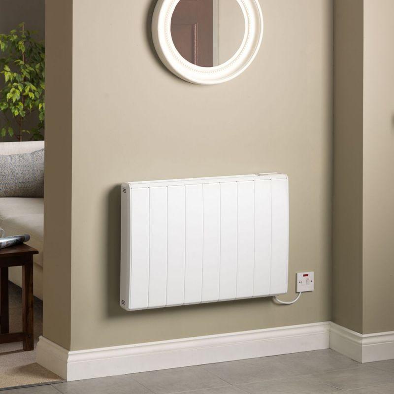 Electric bathroom wall heater