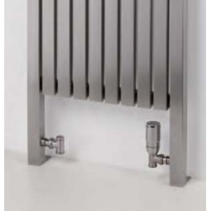 "Aeon ""Gallipoli"" Designer Brushed Stainless Steel Towel Rails (3 Sizes)"