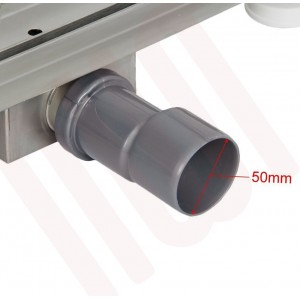 """Design 3 - Stainless Steel """"Rectangular"""" Wetroom Drainage System - 5 Sizes (600mm to 1500mm)"""
