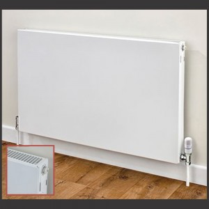 """""""Vulcan"""" Single Panel Horizontal Radiator (8 Sizes"""