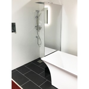 200mm Square Wetroom Drainage