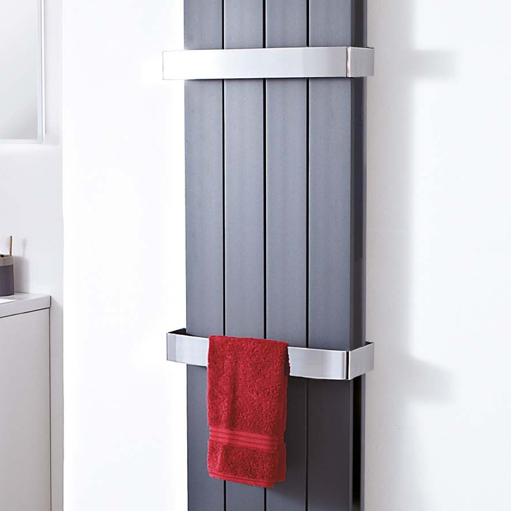 Chrome Towel Bar For Double Panel Wave Flow Amp Newborough