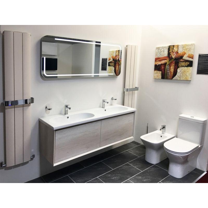 Chrome Towel Bar for Thor Designer Radiators