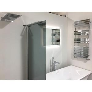 500 x 1200 Castell Chrome Heated Towel Rail