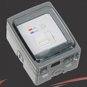 Weathersafe Wi-Fi Controlled IP66 Fused Spur