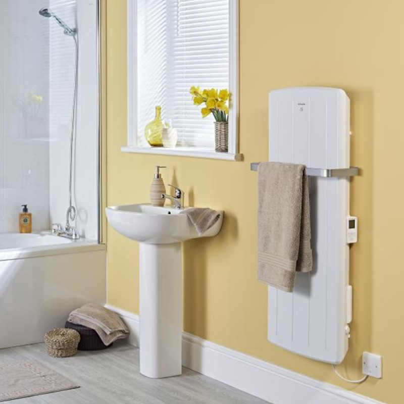 "Dimplex ""BPH"" 1000W White Electric Bathroom Panel Heater"