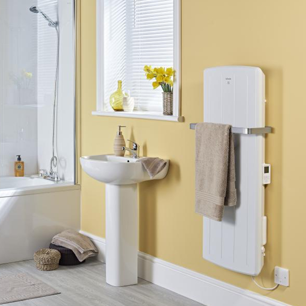 Electric bathroom heater