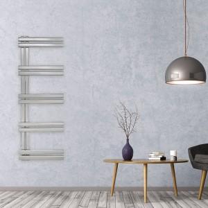"Aeon ""Trogon"" Designer Brushed Stainless Steel Towel Rail (5 Sizes)"