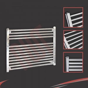 900mm  x 600mm Straight Chrome Towel Rail
