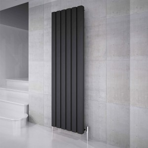 "Carisa ""Vesta"" Metallic Grey Aluminium Designer Radiators (6 Sizes)"