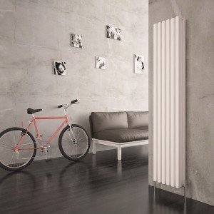 "Carisa ""Karo"" White Aluminium Column Radiators (3 Sizes)"
