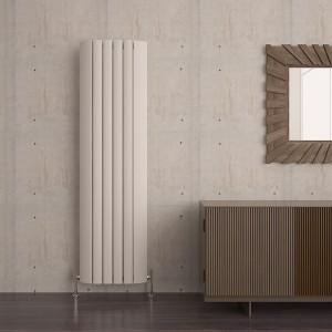 """Carisa """"Gaia"""" White Aluminium Designer Radiators (6 Sizes)"""