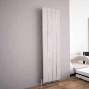 """Carisa """"Elvino"""" White Aluminium Flat Panel Designer Radiators (5 Sizes)"""
