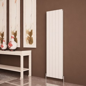 "Carisa ""Nemo Double"" White Aluminium Flat Panel Designer Radiators (8 Sizes)"