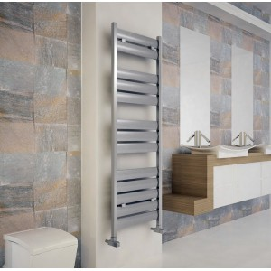 "Carisa ""Soho"" Polished Anodised Aluminium Designer Towel Rails (4 Sizes)"