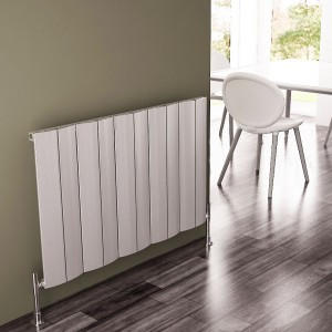 "Carisa ""Play"" Matt Anodised Aluminium Designer Horizontal Radiators (3 Sizes)"