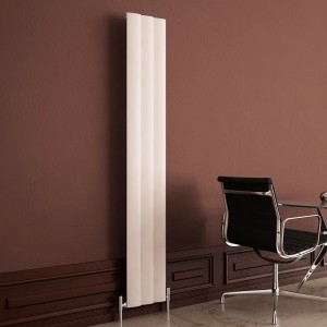 "Carisa ""Step"" White Aluminium Designer Radiators (8 Sizes)"