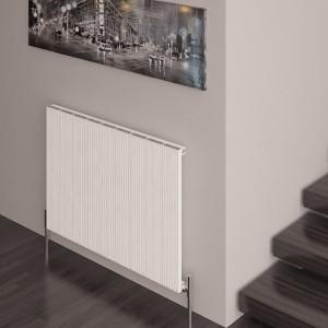 """Carisa """"Monza"""" White Aluminium Designer Horizontal Radiators (5 Sizes)"""