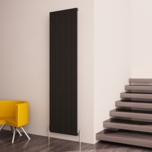 "Carisa ""Monza"" White Aluminium Designer Vertical Radiators (3 Sizes)"